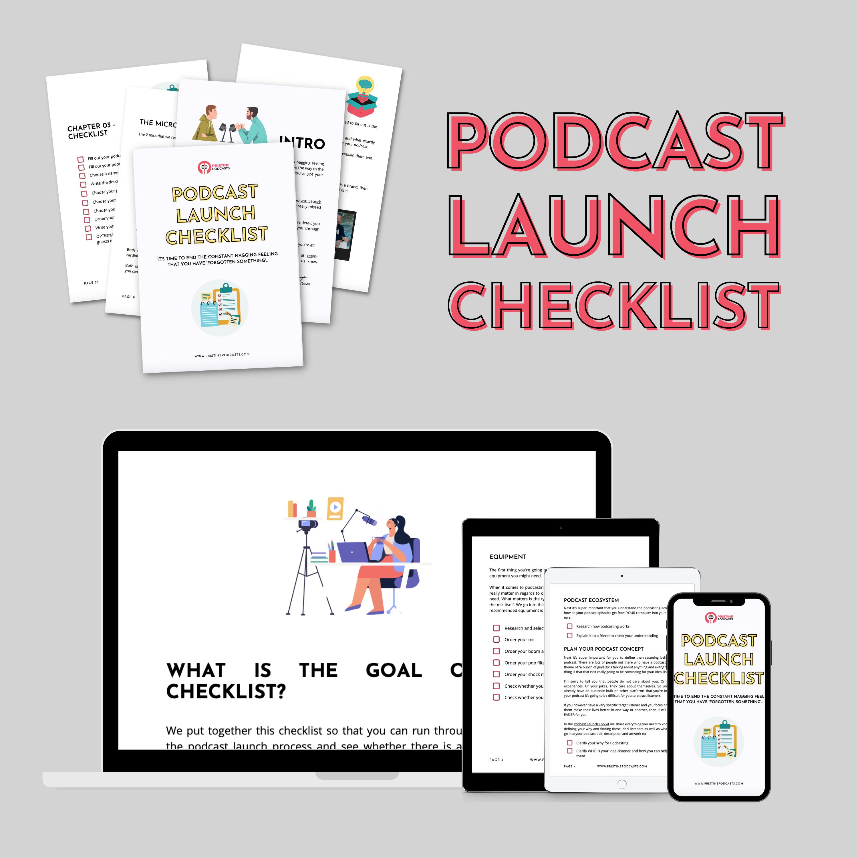 podcast directories checklist